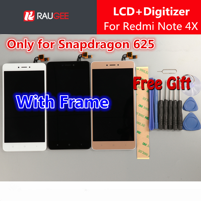 for Xiaomi Redmi Note 4X Screen with Frame Redmi Note 4 Global Version lcd display touch screen assembly replacement panelfor Xiaomi Redmi Note 4X Screen with Frame Redmi Note 4 Global Version lcd display touch screen assembly replacement panel