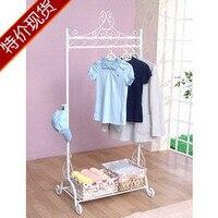 Clothes display rack iron coat rack exquisite coatless glove hangers