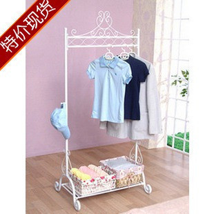 Clothes display rack iron coat rack exquisite coatless glove hangers