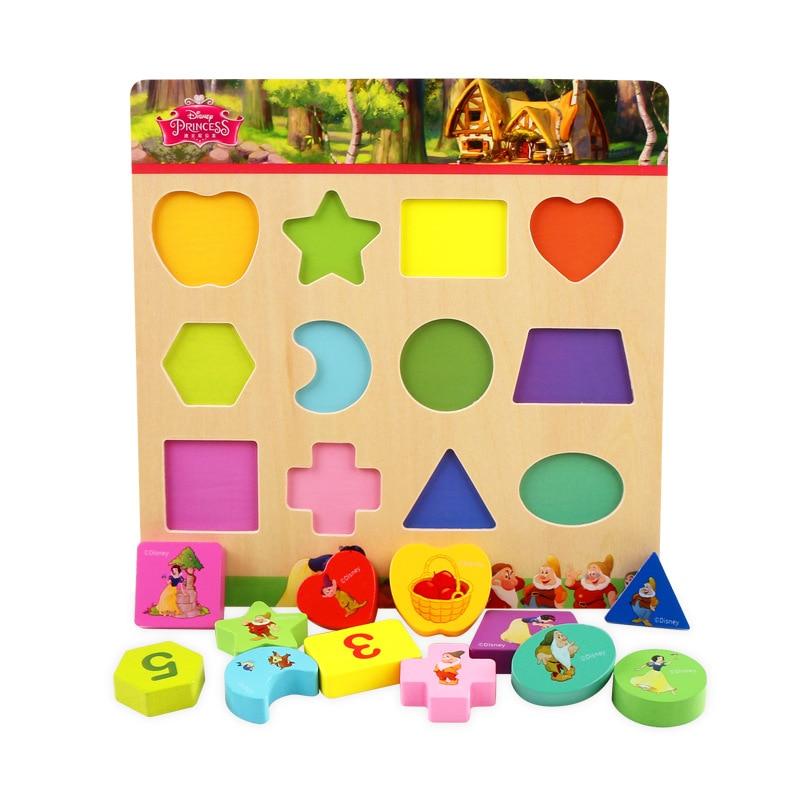 Baby Speelgoed Houten Speelgoed Vorm Classificatie Board 3d Puzzel Vorm Classificatie Board Bouwstenen Baby Educatief Speelgoed