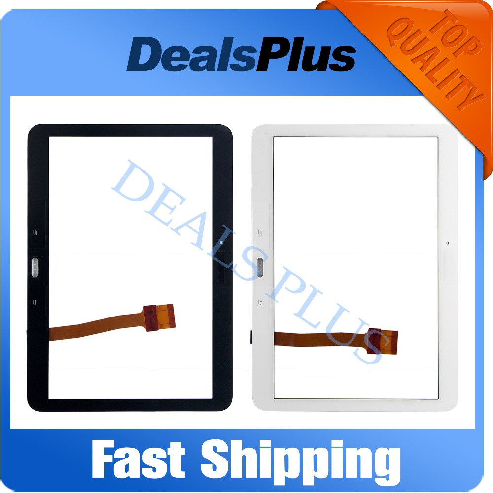 цена на Replacement New Touch Screen Digitizer For Samsung Galaxy Tab 4 10.1 SM-T530 T530 T531 T535 10.1-inch White Black