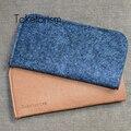 Portátil de peso ligero de lana feltbags bolsa cajas de la lente gafas de sol para mujeres de los hombres B2