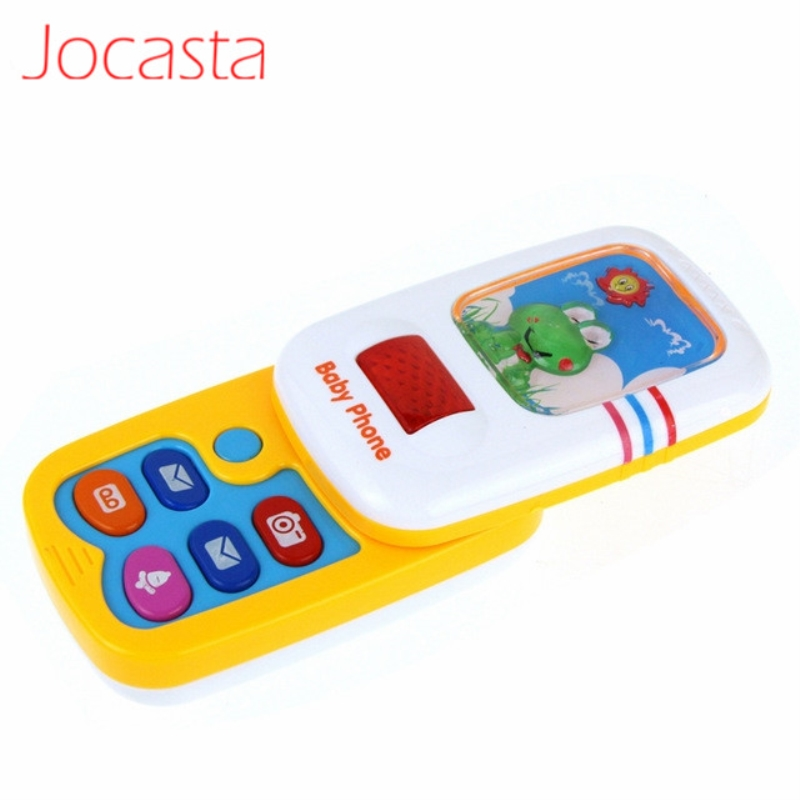 Children Kids Electronic Mobile Phone With Sound Smart Phone Toy Cellphone Early Educational Toy Flash Musical Toys Gifts !