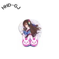 HHD-GJ Sexy Girl 3D Seno Dell'anca Tette Beauty Anime di Polso Del Silicone PC Gaming Mouse Pad Gaming Pad Mat