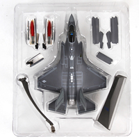 Terebo 1/72 Scale Military Model Toys Lockheed Martin F 35 Lightning II Stealth Multirole Fighter Diecast Metal Plane Model Toy