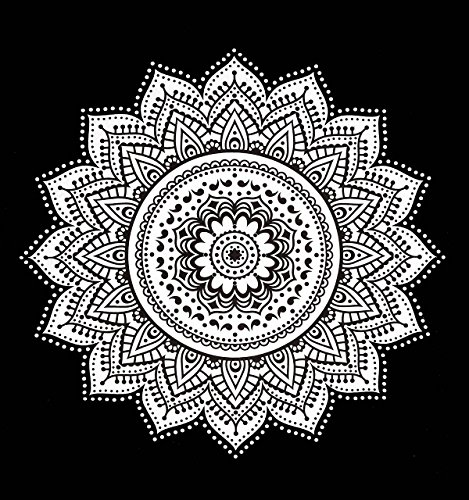 dropshipping black white mandala