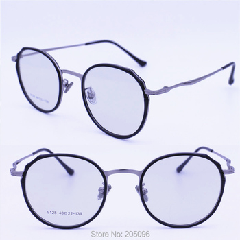 4da0ee000b30 9128 nickel copper alloy rounded square shape combined with TR90 decoration  inner rim classic stylish prescription