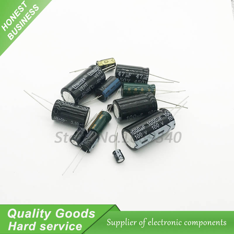 10PCS 160V100UF 13*25mm <font><b>100UF</b></font> <font><b>160V</b></font> 13*25 Aluminum electrolytic capacitor image