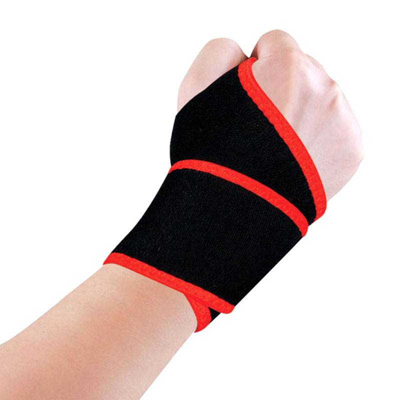 1 Pair Professional sports wrist guard Bandage Protect Wrist Brace Reduce Carpal joint Pain Wrist Belt Sports Safety Wrist Pads