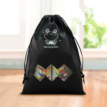 Cartoon Travel Storage  shoes Bag  Clothes Drawstring Shoes Bag Men Women Traveling bags Organizer Packing Cube Dropshipping