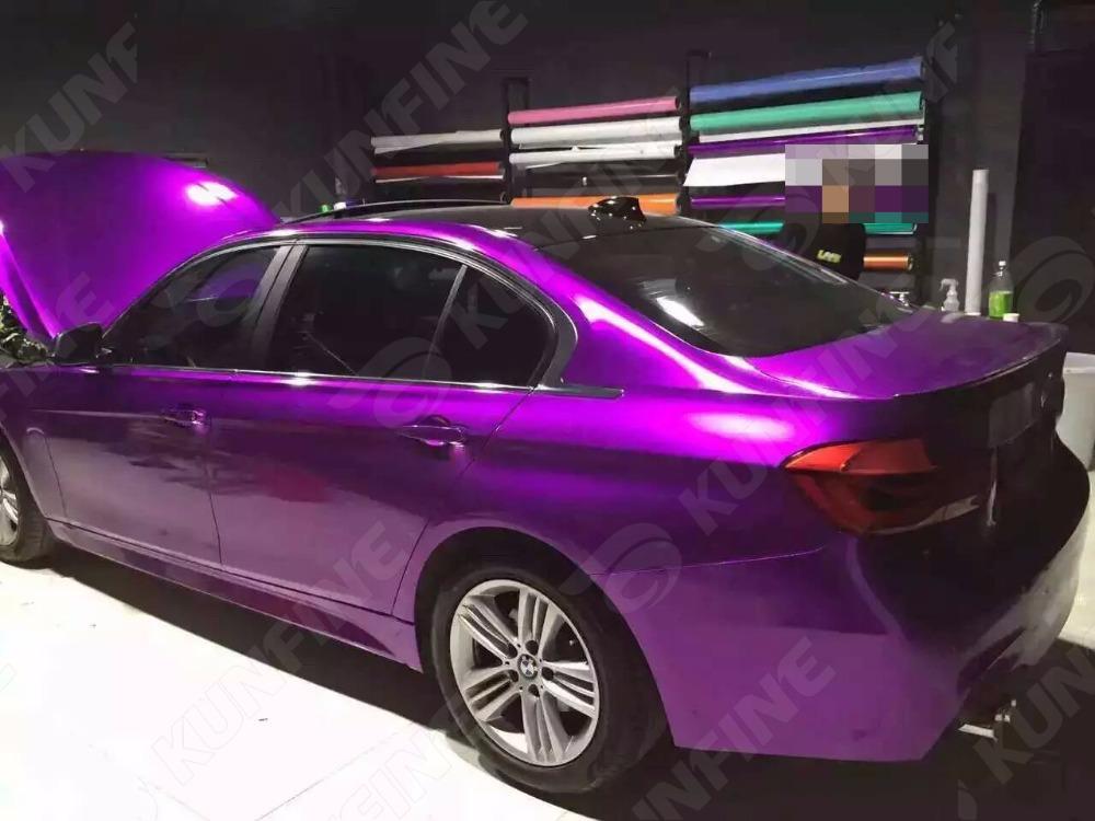 Aurora Purple Car Vinyl film 6