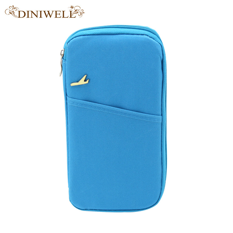 DINIWELL Brand Women Travel Passport Set Wallet Multifunction Credit Card Set ID Holder Storage Organizer Clutch Money Bag luluhut passport storage bag travel functional bag portable passport holder document organizer credit card id card cash holder