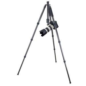 Image 4 - RT85C Heavy Duty Professionale 10 Strati In Fibra di Carbonio Treppiede Monopiede Base Doppio Panoramic Ball Head per Nikon Canon DSLR