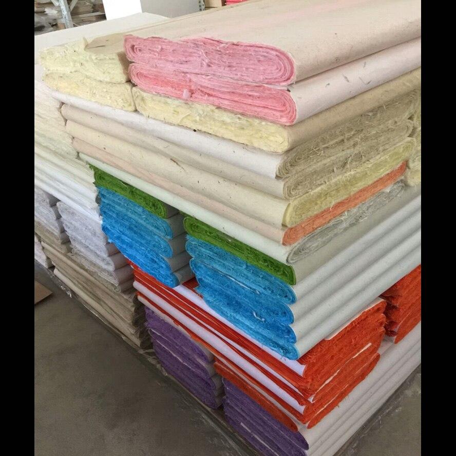 100 pcs yunlong xuan zhi papel Colorido