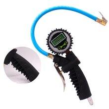 Digital Air Tire Pressure Inflator Gauge for Car Truck Bike Motor Tire Pressure Gun Meter Vehicle Tester Monitoring System