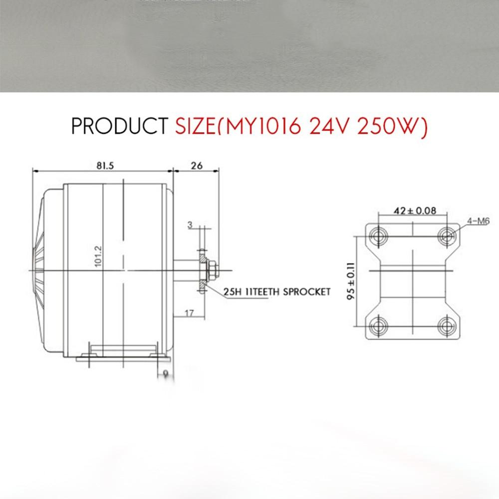 Best 24V 250W electric bike motor conversion kit electric motor for ebike/scooter/electric bicycle 9
