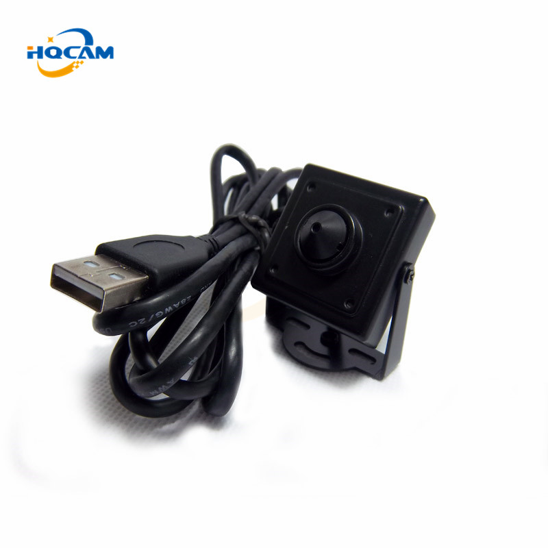 HQCAM MINI ATM USB Camera 0.3 Megapixels USB mini camera/ATM Bank Camera 3.7mm Lens Support Linux XP System mini usb camera цена