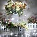 10 M Luz Da Corda Iluminação Fariy Natal/Casamento/Decoração Do Partido Luzes de Iluminação AC 110 V 220 V 9 cores