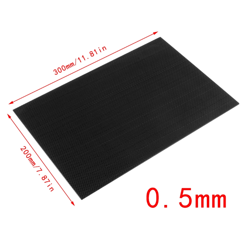 3k Carbon Plate Panel  0.5 1 1.5 2  3  Plain Twill Weave Matt Glossy Surface Full Carbon Fiber Plate Panel Sheet  #20/12 1pc full carbon fiber board high strength rc carbon fiber plate panel sheet 3k plain weave 7 87x7 87x0 06 balck glossy matte
