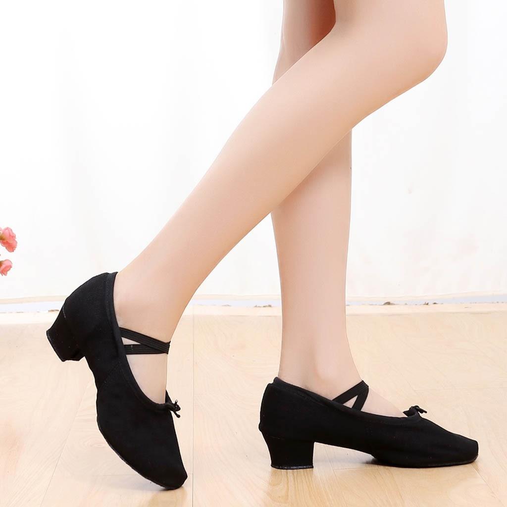 30 Chaussures Valse black Salsa Talons De Intérieur Orteil Femmes Beige Danse pu Satin Partie red 2019 Tango Sagace Moderne Bal Nouveau Fermé En Salle OpqRFFPwWY
