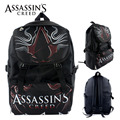 Anime Assassin Creed Nylon Backpack Cartoon School Bag Student Bags Double Shoulder Waterproof Boy Girls Schoolbag