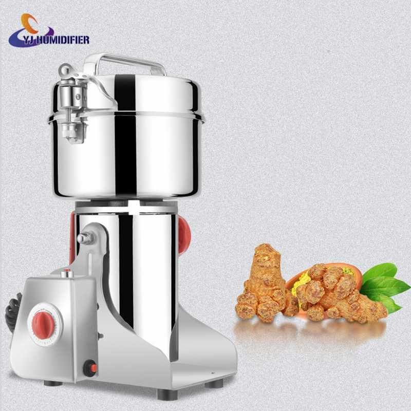 110V/220V Electric coffee Grinder Swing Type Rice Cereal Mills Herbal Powder Mill Dry Food Grinding Machine Spices Cereals Crush high quality 1500g swing type stainless steel electric medicine grinder powder machine ultrafine grinding mill machine