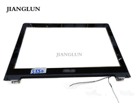 JIANGLUN For Asus S550C S550CA S550 Series 15.6 LCD Bezel Frame with Glass