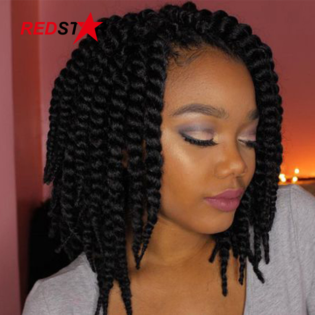 12 Inch Havana Mambo Twist Crochet Braids Hair Synthetic Crochet