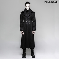 Gothic Palace noble men Long Jacket Winter Coats Steampunk Stage Performance Personality Cosplay Costume Coat PUNK RAVE Y 742