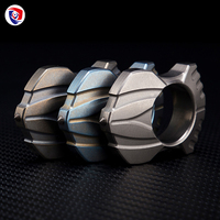 2018 New titanium alloy Tungsten Steel Self Defense Survival Tactical Supplies Ring Women Men Safety Survival Finger Ring