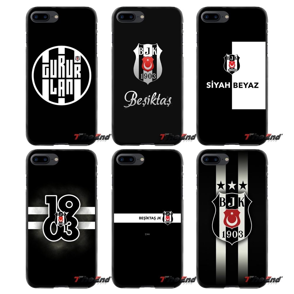 For Apple iPhone 4 4S 5 5S 5C SE 6 6S 7 8 Plus X iPod Touch 4 5 6 Protective Phone Cover Case fashion Besiktas J K football team