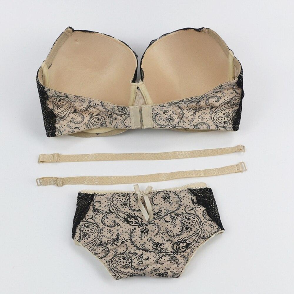 96a2fbe465 Women Sexy Lingerie Sleepwear Underwear Purple Top Bra Sets of Nightwear  Plunging Lace Bralette Transparent ...