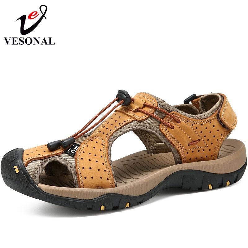 5caaf96f408 Compra leather walking sandals y disfruta del envío gratuito en  AliExpress.com