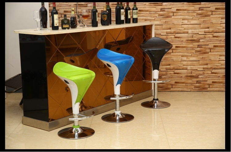 living room chair bar wine stool green color villa household chair stool retail wholesale free shipping