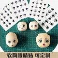 5 шт./лот 2016 Мода милый ребенок любимый красивые DIY куклы глаз наклейки глаза наклейки переброска воды наклейки