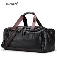 BAILLR Brand Vintage Handbags Men's Casual Tote For Men Large-Capacity Portable Shoulder Bags Men's Fashion Travel Bags Package