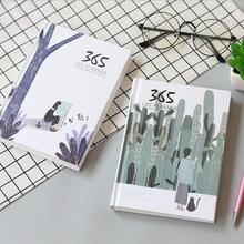 Creative 365 Days Diary Weekly Monthly Planner Cartoon Year Schedule Notebook And Journals Memo Notepad Birthday Gift