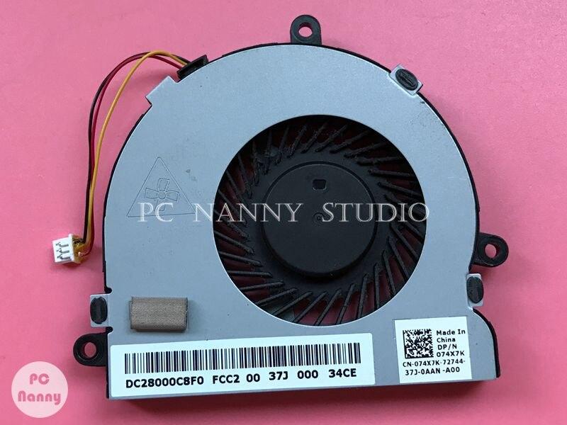 Вентилятор охлаждения ЦП 74X7K 074X7K DC28000C8F0 для Dell Inspiron 17 3721 5521 5537 5721 5737 17,3