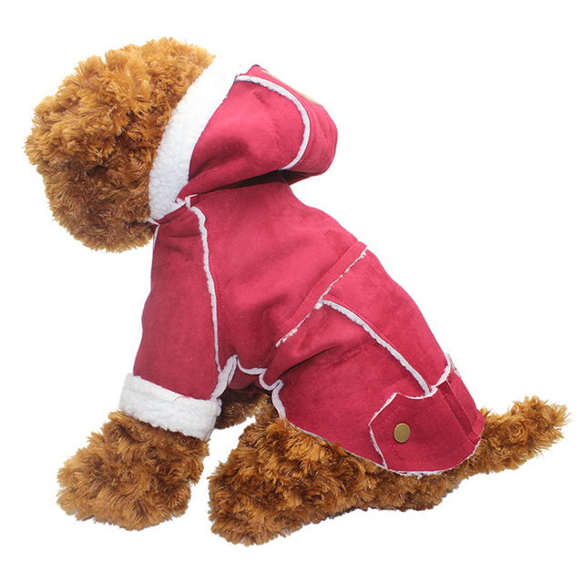 Pet Dog Clothes For Dogs Thickening Winter Dog Coat Jacket Warm Clothes Puppy Outfit Medium Big Size Chihuahua Roupa Para 30