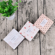 5 Pcs Gift Candy Box For Wedding Party Birthday Strawberry heart Small Drawer Paper soap Cake Chocolate Packaging
