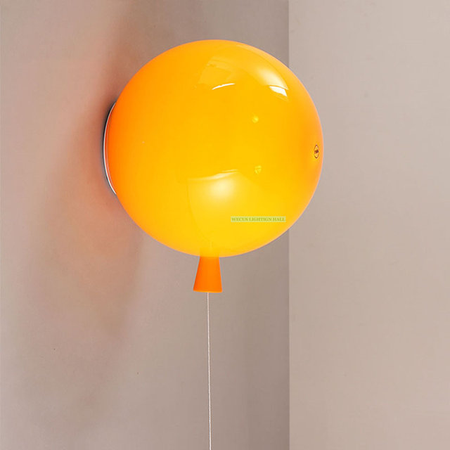 Online Shop Balloon lamps wall light baby child room lamps stair ...