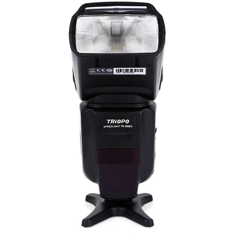 Wireless TRIOPO TR - 586EX N 1/8000s TTL FEB S1 / S2 Master Slave Camera Digital LCD Flash Hot Shoe Speedlite For Nikon Canon