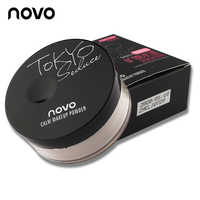 Newest Makeup Loose Finishing Powder Matte Bare Face Whitening Skin Finish Transparent Powder Palette SPF 25 With Cosmetic Puff
