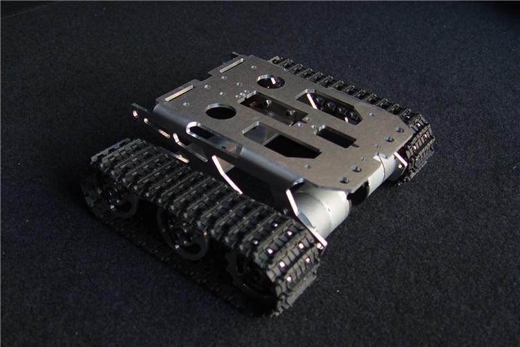 Tank chassis intelligent car crawler chassis crawler vehicle tank vehicle tank robot metal motor original xiaomi mitu robot tank mecha crawler base mitu building block robot crawler tank version controll by smartphone mihome