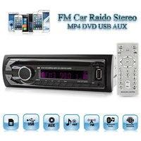 52W 4CH 1 DIN In Dash FM AM Car Stereo USB AUX MP3 CD DVD Player