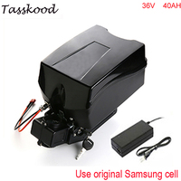 Super power samsung литиевая батарея 36 В 40ah 1000 Вт Электрический велосипед аккумулятор с защиты БМС + зарядное устройство + лягушка случае