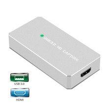 USB 3,0 HDMI juego tarjeta de captura HD 1080 P de captura de Video con OBS para su emisión en directo Streaming para PS3 PS4 xbox One 360 TV caja STB