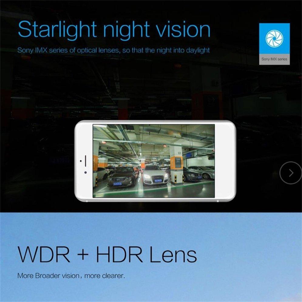 Маленький видеорегистратор с глазом, Автомобильный видеорегистратор, камера с Wifi, Full HD, 1080 p, широкоугольный объектив, g-сенсор, ночное видение, видеорегистратор