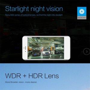 Image 4 - Caméra enregistreur DVR de voiture à petit tableau de bord avec caméra grand Angle Wifi 1080p