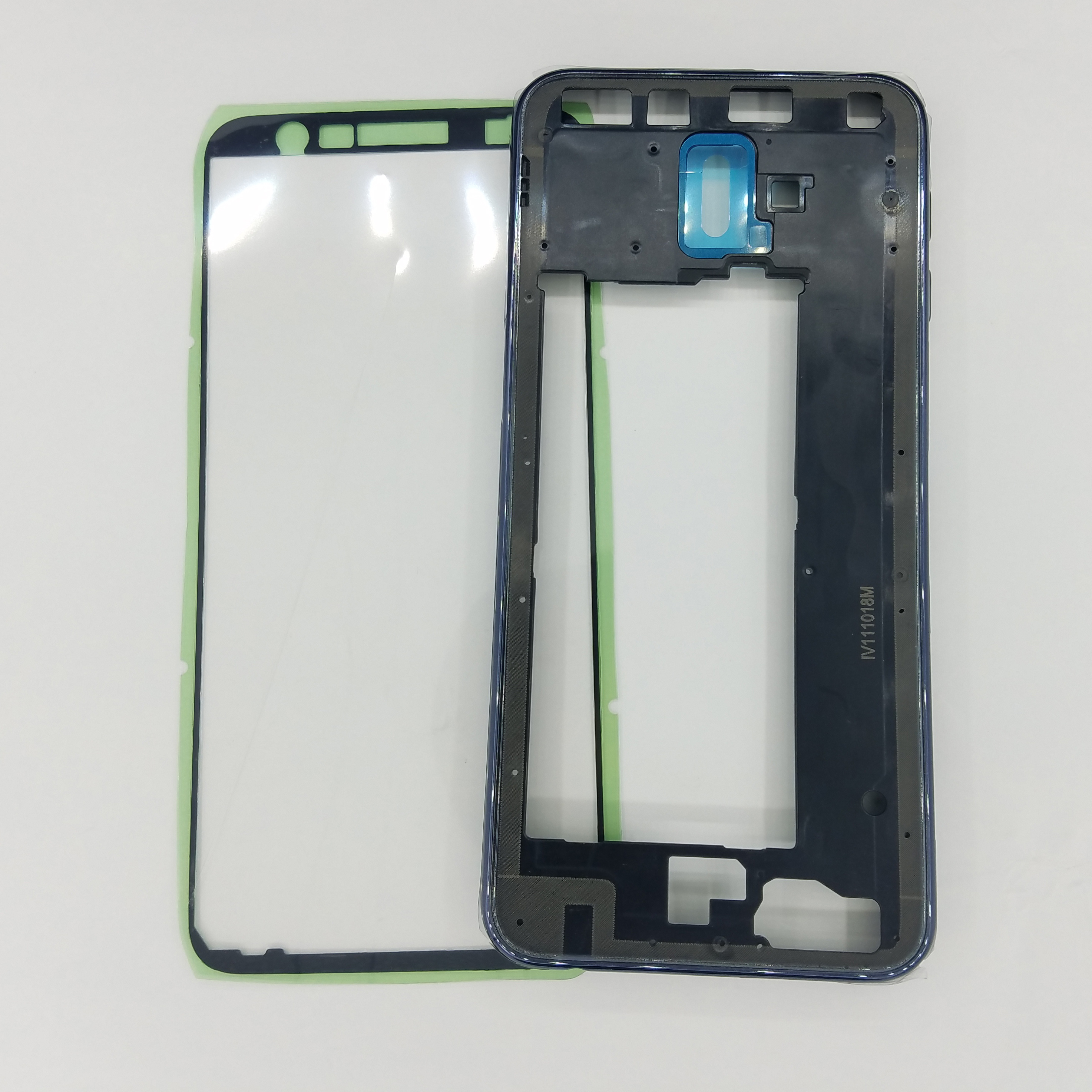 For Samsung Galaxy J6 Plus J6+ 2018 J610 J610F J610FN J610G Original Phone New Side Housing Middle Frame Chassis With Key Button